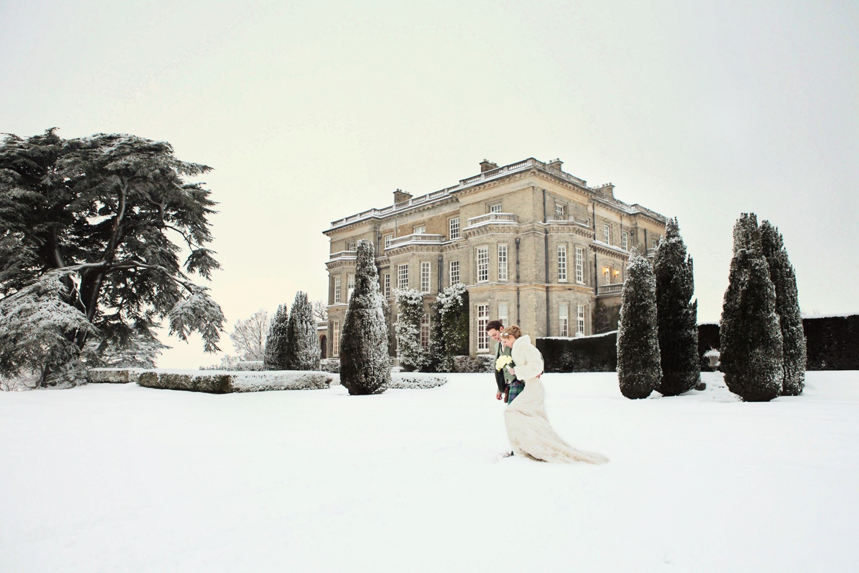 Hedsor House winter wedding