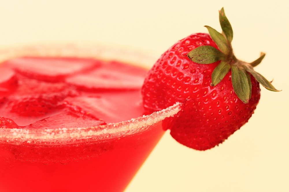 strawberry mocktail