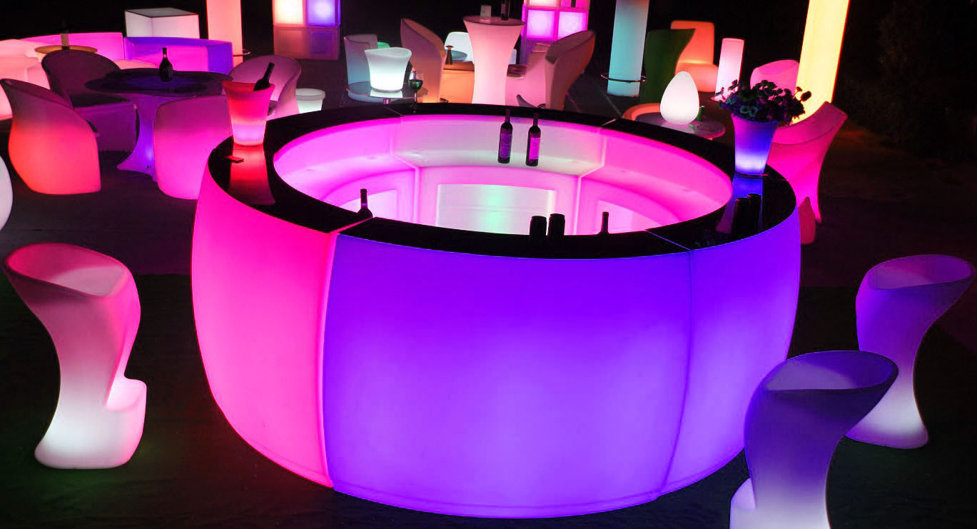 Illuminate Your Event With Led Furniture Yahire