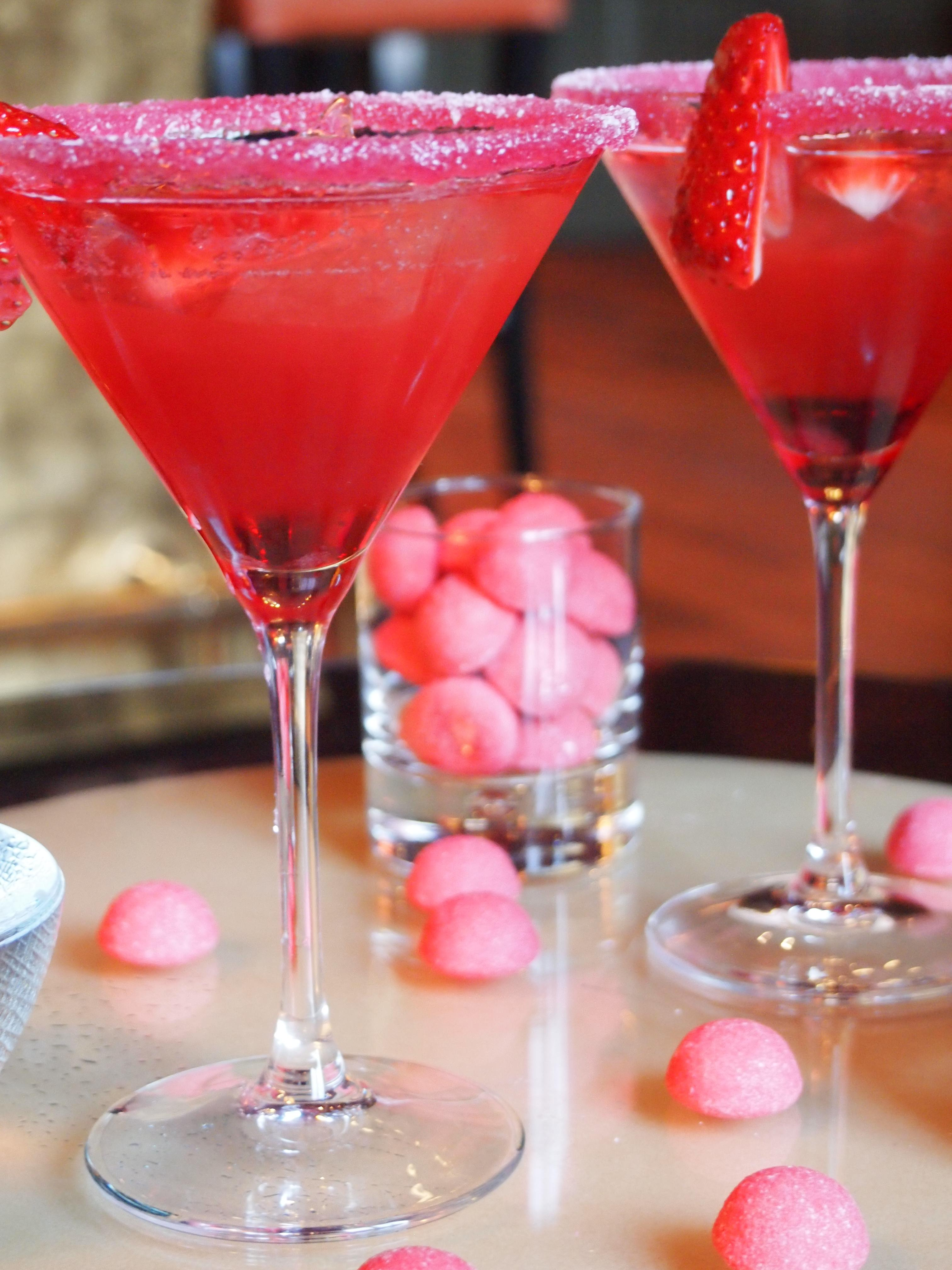 Pink Planet cocktail