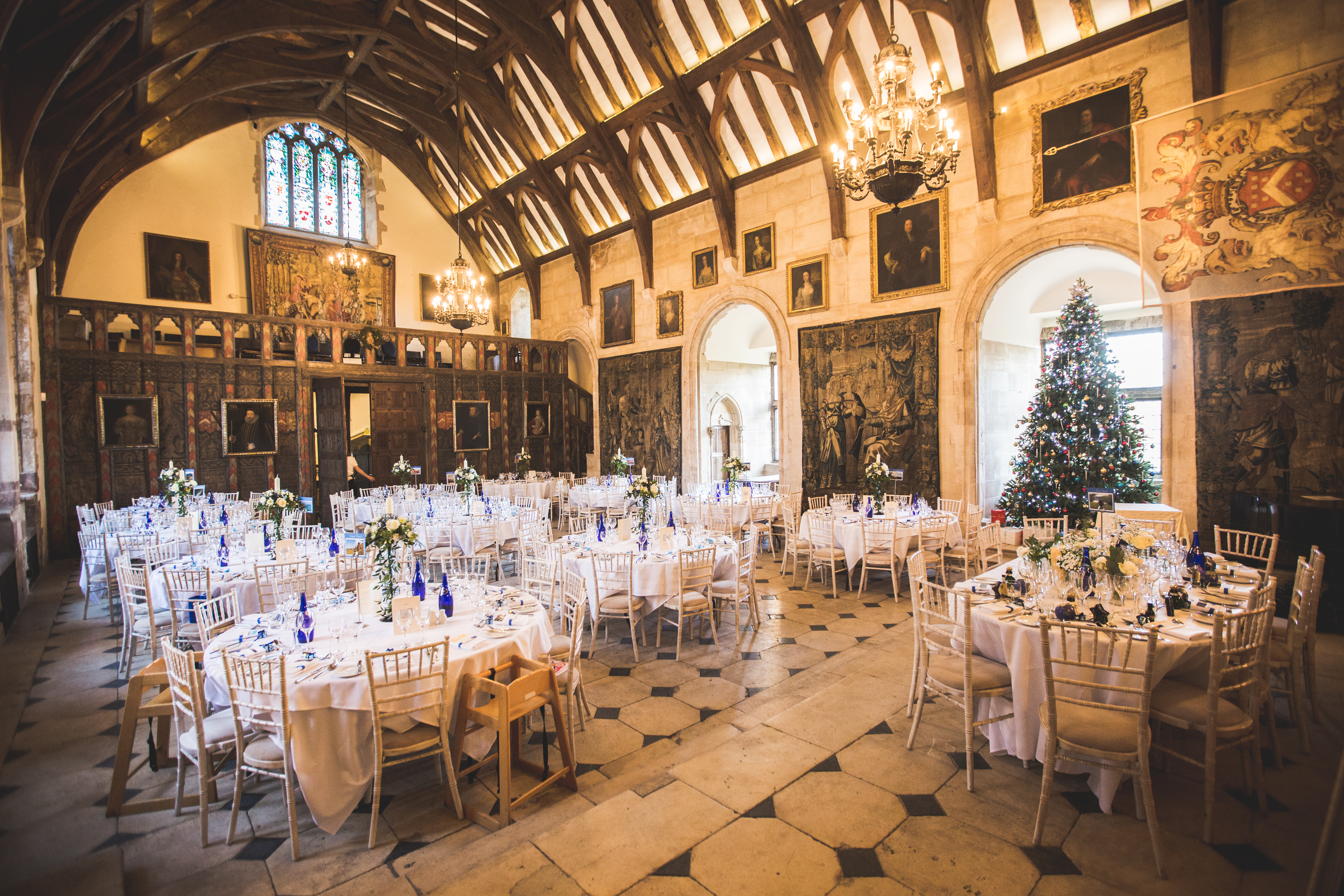 Berkeley Castle winter wedding