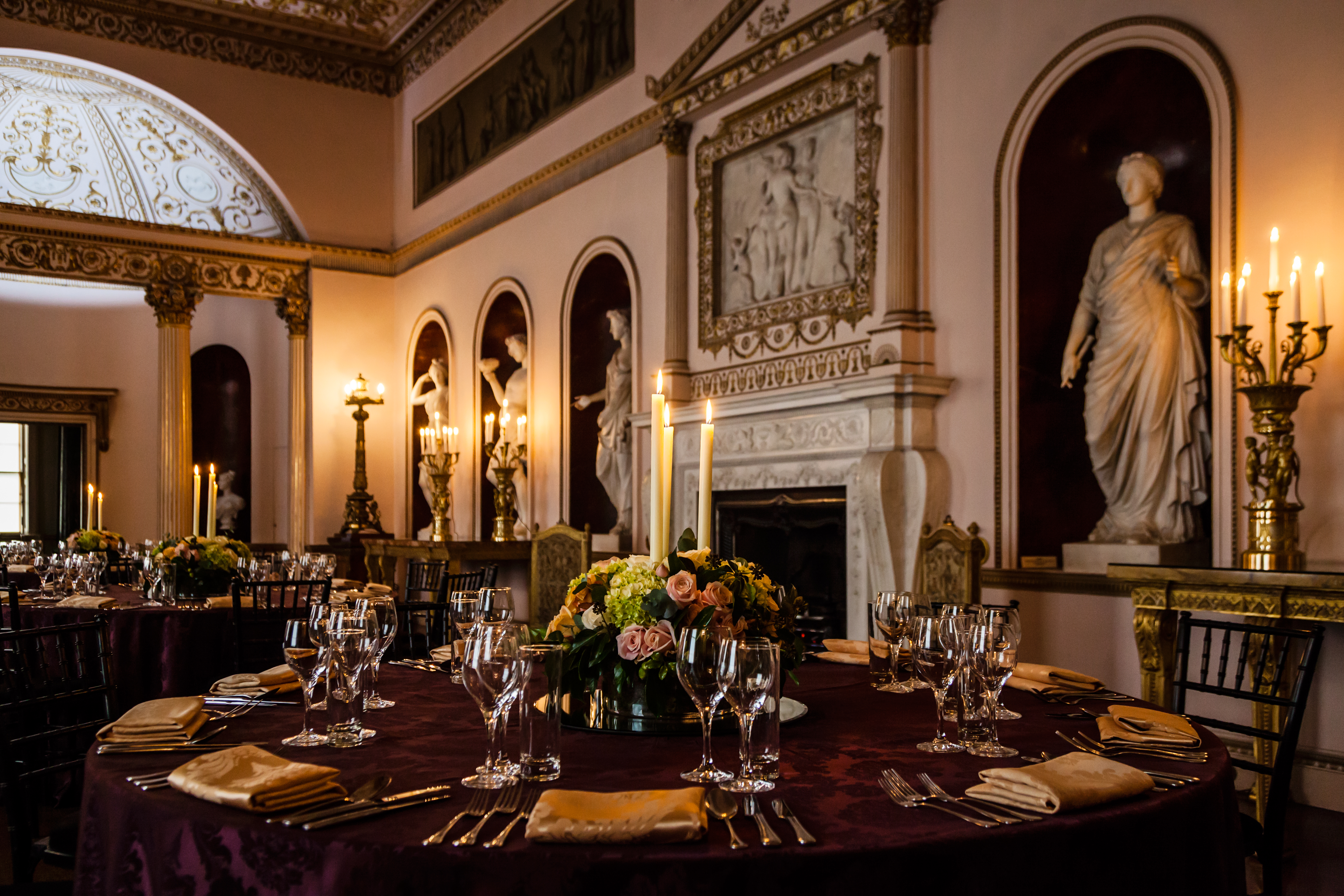 Syon House winter wedding