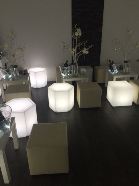 Led Furniture At Christmas Event