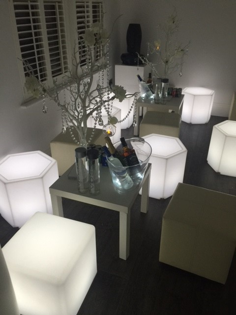LED HEX Tables