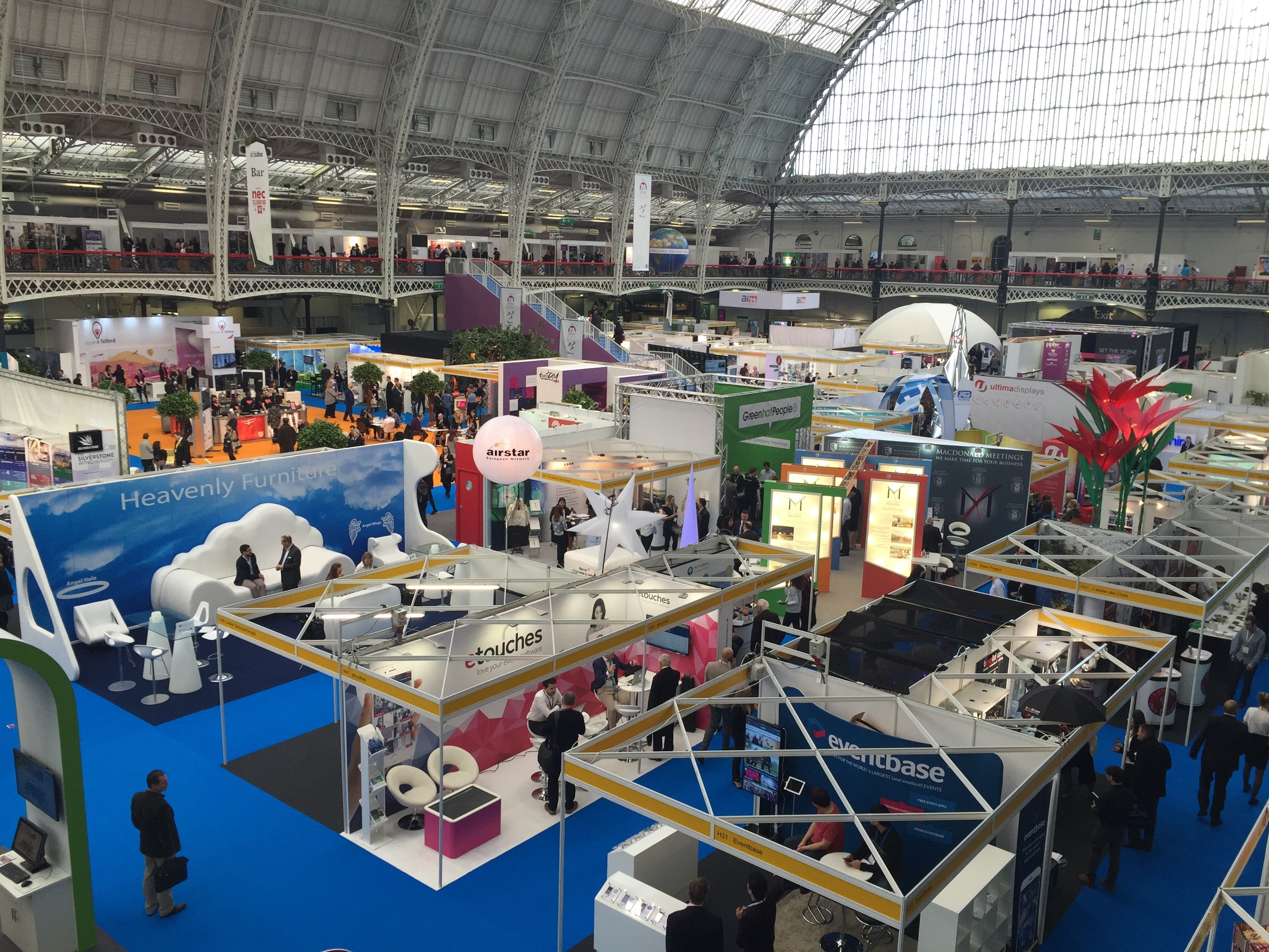 The confex show at London Olympia