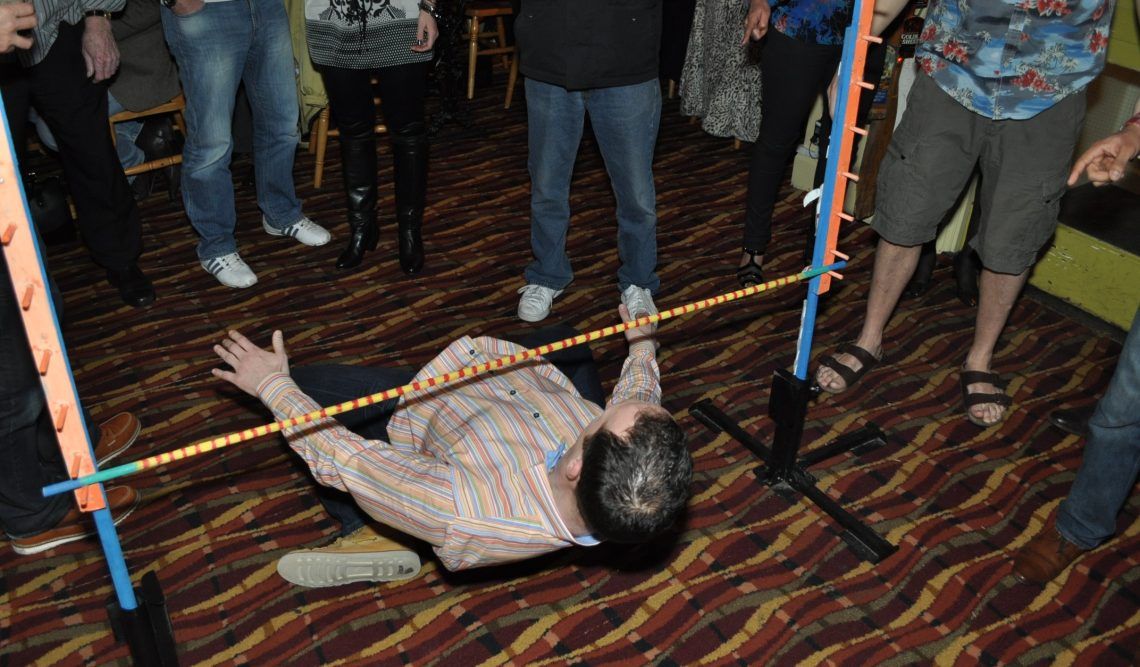 Limbo At A Party Is Great Fun!