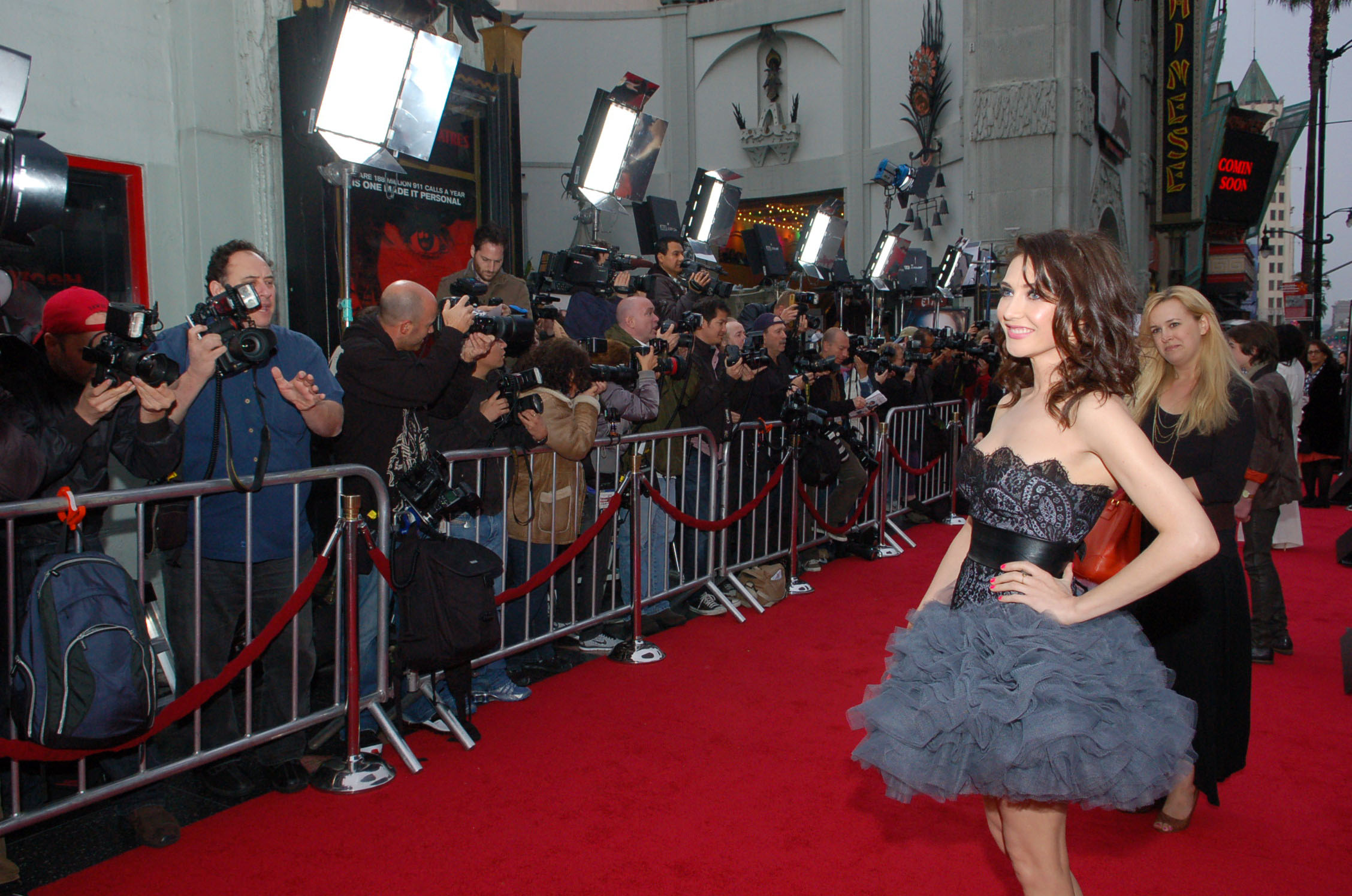 Photographers on red carpet