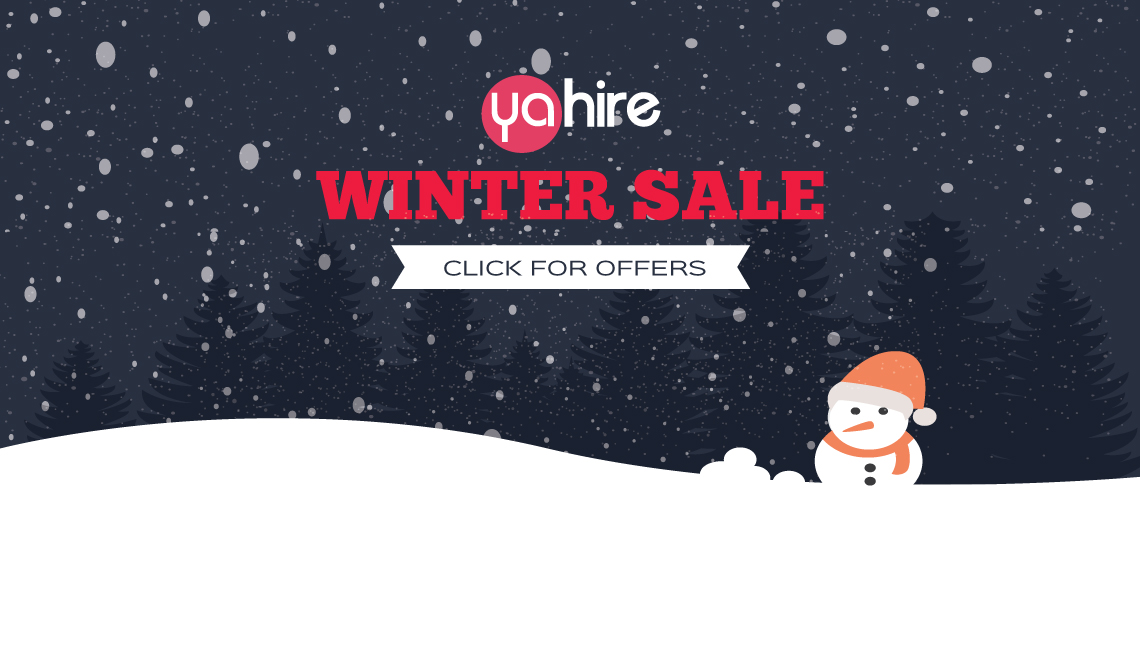 Winter Furniture Hire Sale