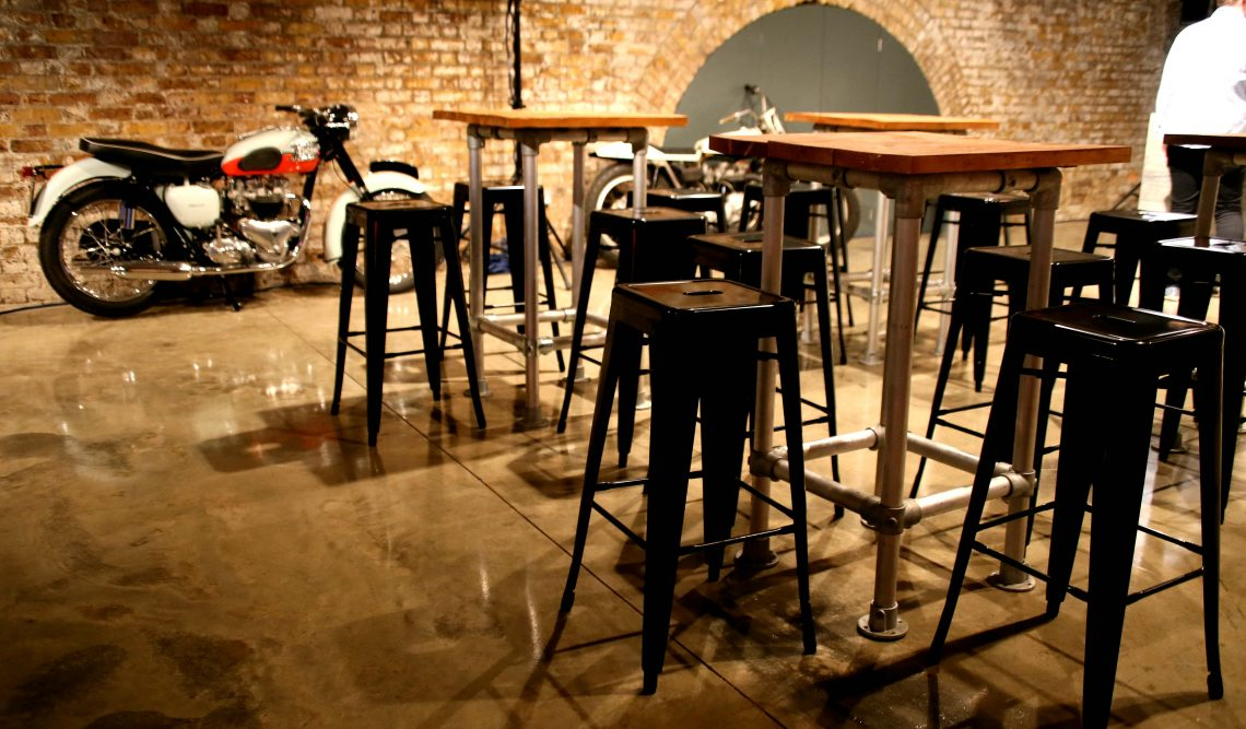 Industrial Chic Furniture Hire